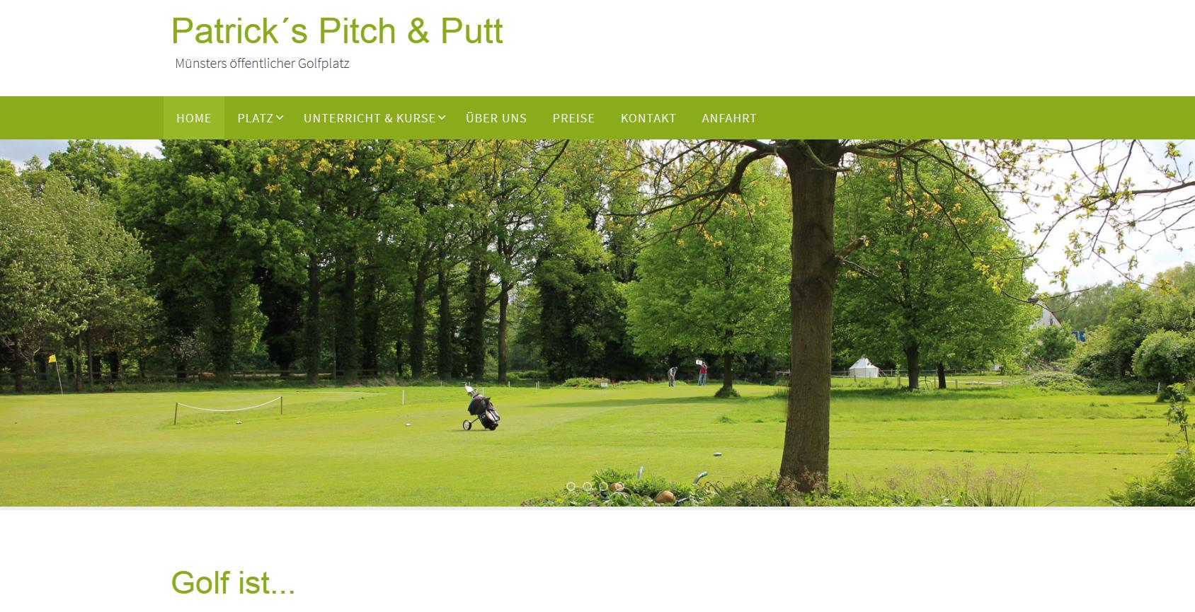 Golfplatz Pitch & Putt