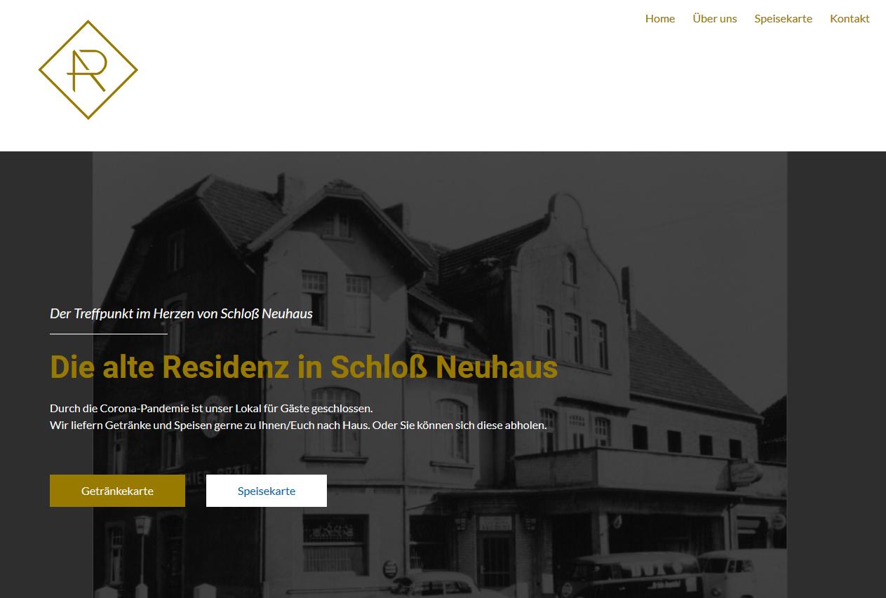 Alte Resi in Schloß Neuhaus